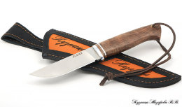 Knife eagle 2 Elmax steel satin handle nut