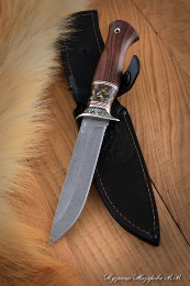 Knife Infantryman K340 artificial stone rosewood Melchior