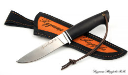 Knife Traveler steel KH12MF satin handle black hornbeam