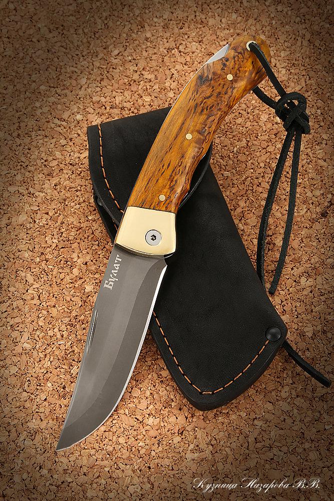 Охотничьи ножи булатной и дамасской стали